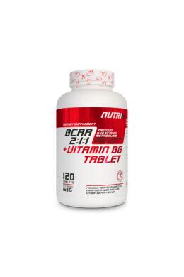 NUTRI8 Bcaa 2:1:1 + B6 Vitamin Tabletta 1400mg 120 tabletta