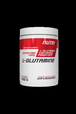 NUTRI8 Glutamine Unflavoured 450g