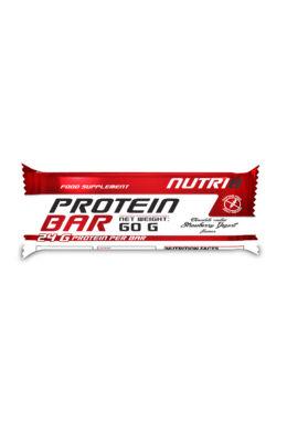 NUTRI8 Protein szelet Eper-Yoghurt (bevonatos) 60g