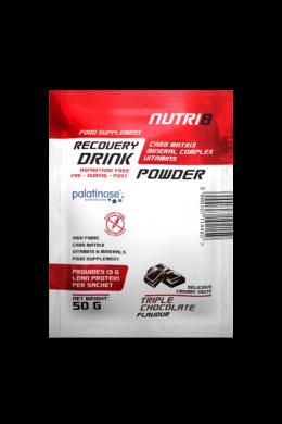 NUTRI8 Recovery Drink Tripla Csokoládé 50g