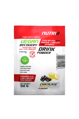 NUTRI8 Vegan Recovery Drink Chocolate-Banana 50g