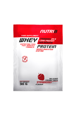 NUTRI8 Whey Protein Eper 30g
