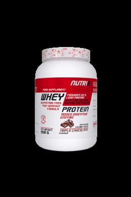NUTRI8 Whey Protein Prémium Tripla csokoládé 908g