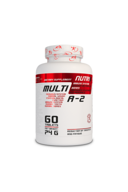 NUTRI8 Multi A-Z vitamin 60 tabletta