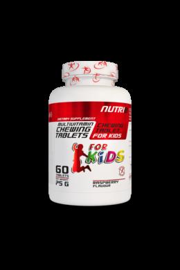 NUTRI8 Gyerek Multivitamin Rágótabletta 60 tabletta