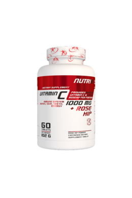 NUTRI8 C-Vitamin 1000mg 60 tabletta