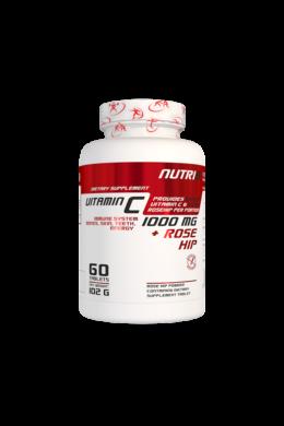 NUTRI8 C-Vitamin 1000mg 60 tabletta