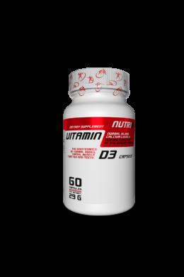 NUTRI8 D3 Vitamin 60 kapszula