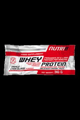 NUTRI8 Whey Protein Tripla csokoládé 30g