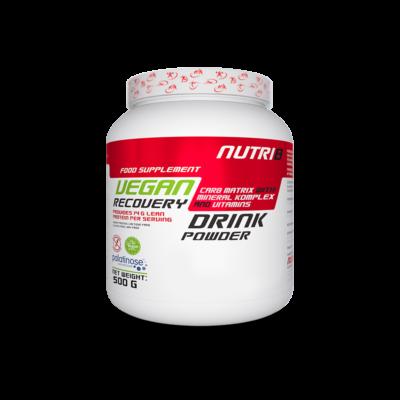 NUTRI8 Vegan Recovery Drink 500g - többféle ízben (Csoki-Banán, Sós karamell)