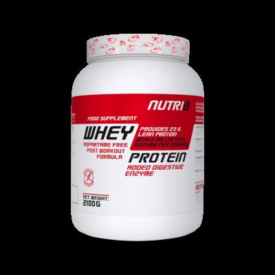 NUTRI8 Whey Protein 2100g - többféle ízben (Tripla csoki, Eper, Vanília)