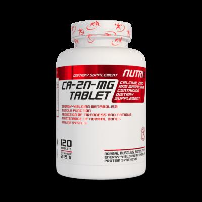 NUTRI8 Ca-Mg-Zn tabletta (60 vagy 120 db)
