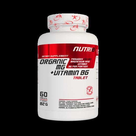 NUTRI8 Mg + B6 60 tabletta