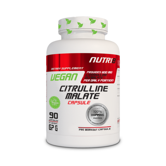 NUTRI8 Vegán Citrulline Malate kapszula