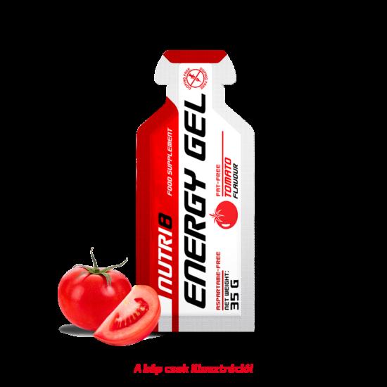 NUTRI8 Energy Gel Paradicsom 35g koffein és taurin mentes