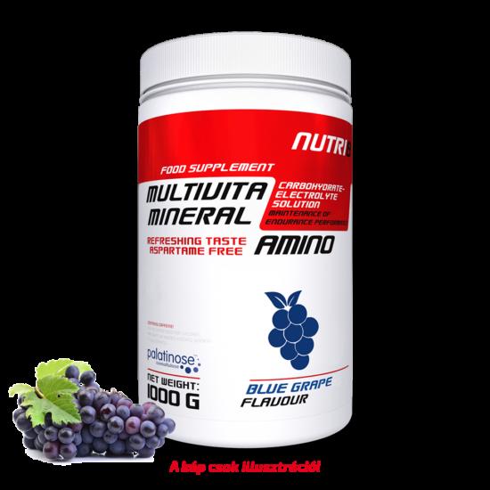 NUTRI8 Multivitaminerál Amino Kék szőlő 1000g