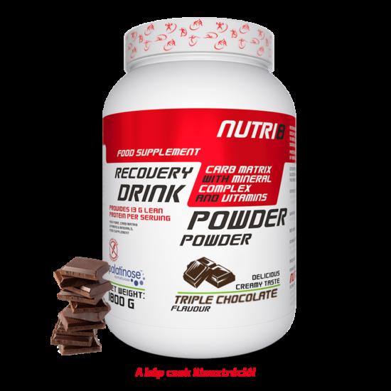 NUTRI8 Recovery Drink Tripla Csokoládé 1800g