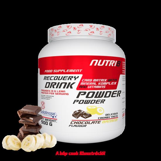 NUTRI8 Recovery Drink Csokoládé-Banán 500g