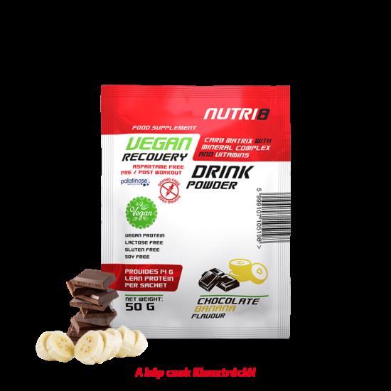 NUTRI8 Vegan Recovery Drink Csokoládé- Banán 50g