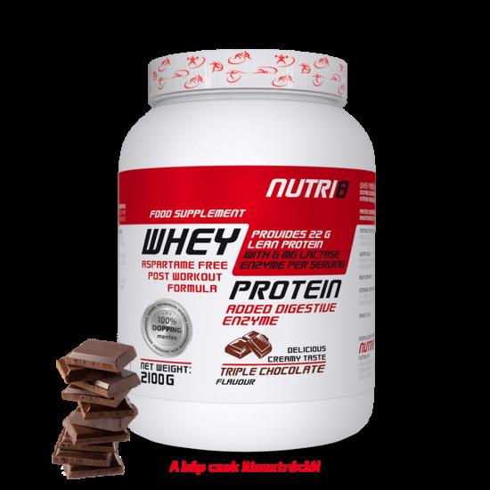 NUTRI8 Whey Protein Tripla csokoládé 2100g