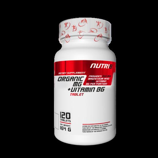 NUTRI8 Mg + B6 120 tabletta