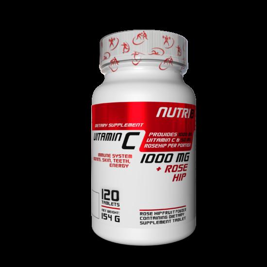 NUTRI8 C-Vitamin 1000mg 120 tabletta