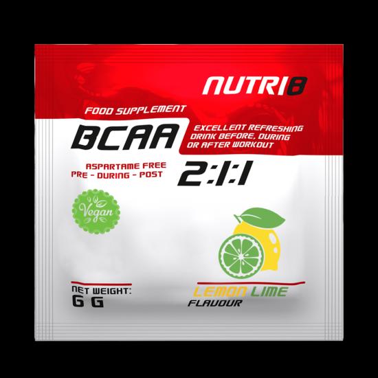 NUTRI8 BCAA 2:1:1 Lemon-lime 6g
