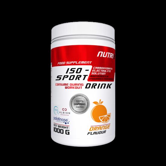 NUTRI8 Iso-Sport Drink Narancs 1000g