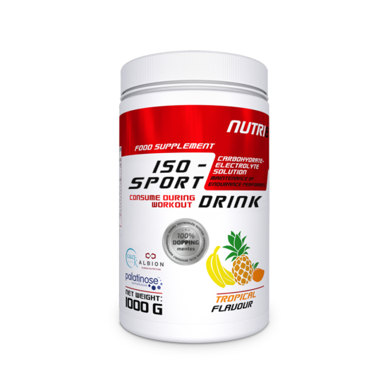 NUTRI8 Iso-Sport Drink Trópusi 1000g