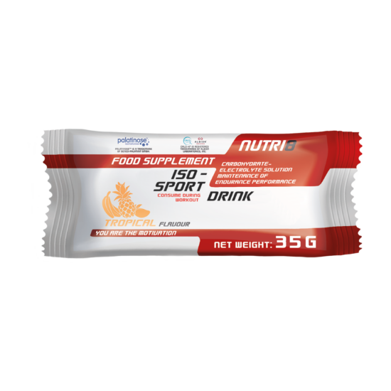 NUTRI8 Iso-Sport Drink Trópusi 35g