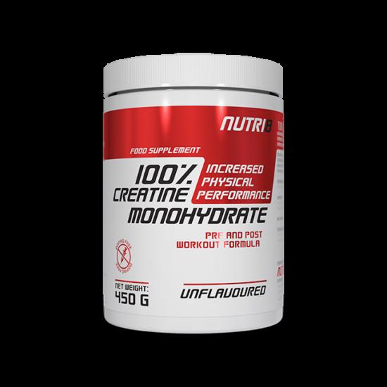NUTRI8 100% Creatine Monohydrate 450g