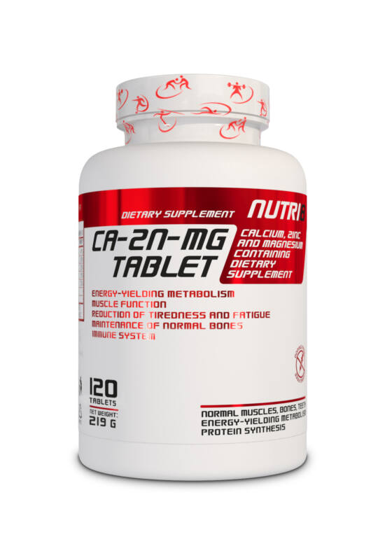 NUTRI8 Ca-Mg-Zn 120 tabletta