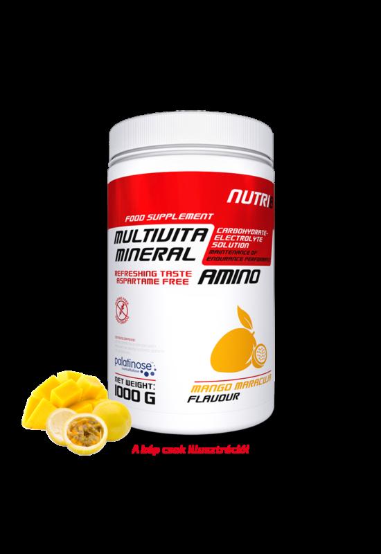 NUTRI8 Multivitaminerál Amino Mangó-maracuja 1000g