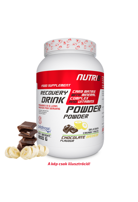 NUTRI8 Recovery Drink Csokoládé-Banán 1800g