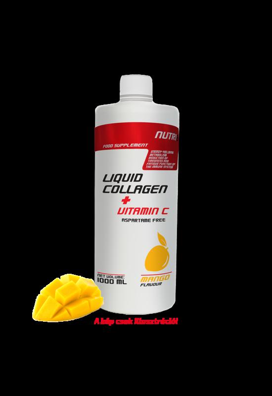 NUTRI8 Kollagén liquid + C vitamin Mangó 1000 ml