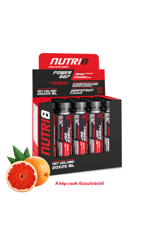 NUTRI8 Power 667 Grapefruit 20x25ml