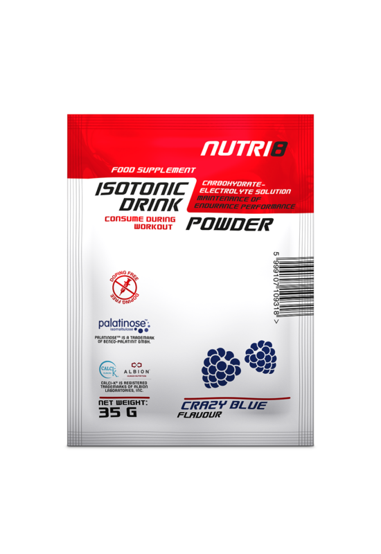 NUTRI8 Isotonic Drink Powder Crazy Blue 35g
