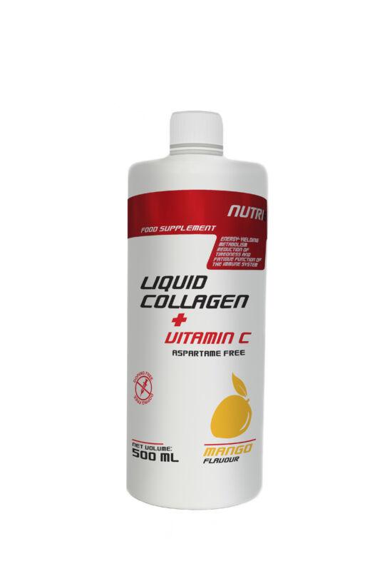 NUTRI8 Kollagén liquid + C vitamin Mangó 500 ml