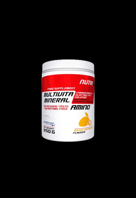 NUTRI8 Multivitaminerál Amino Mangó-maracuja 350g