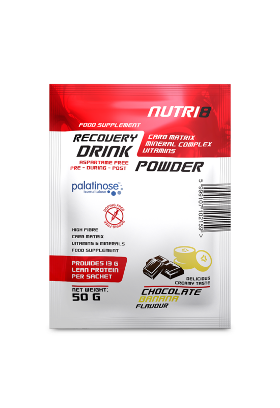 NUTRI8 Recovery Drink Chocolate-Banana 50g