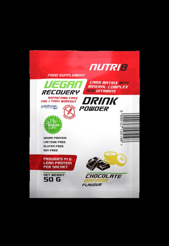 NUTRI8 Vegan Recovery Drink Chocolate-Banana 50g