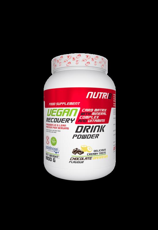 NUTRI8 Vegan Recovery Drink Csokoládé-Banán 1800g