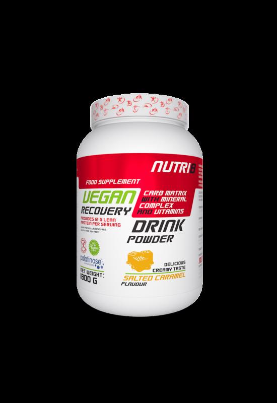 NUTRI8 Vegan Recovery Drink Sós Karamell 1800g