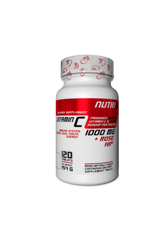 NUTRI8 C-Vitamin 1000mg 120 tabletta
