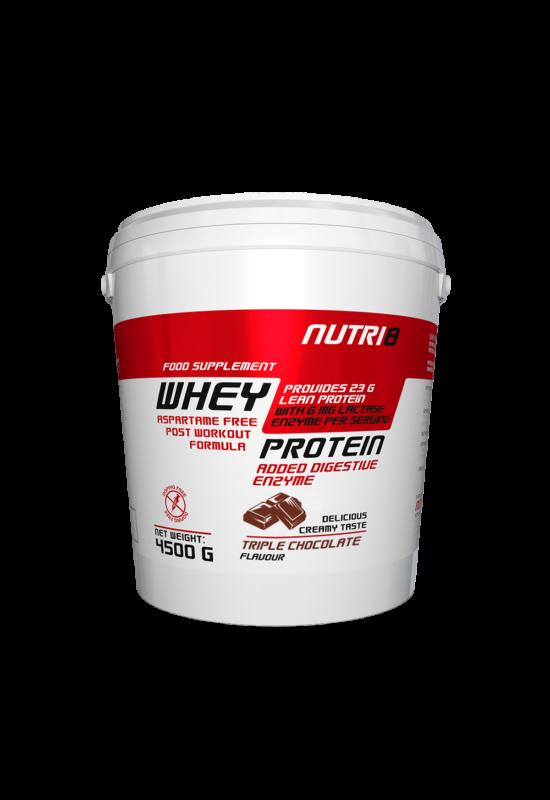 NUTRI8 Whey Protein Tripla csokoládé 4500g