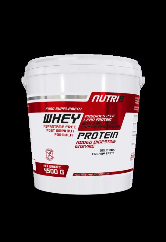 NUTRI8 Whey Protein Enzime Eper 4500g