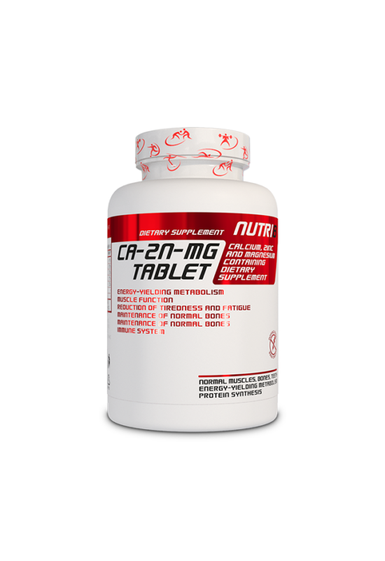 NUTRI8 Ca-Mg-Zn 60 tabletta
